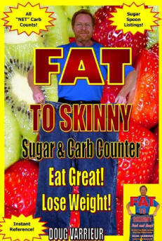CLICK to buy FAT TO SKINNY Sugar and Carb Counter